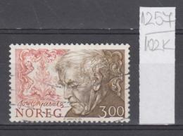 102K1257 / 1986 - Michel Nr. 956 Used  ( O ) Tore Ørjasæter Educator, Literature Critic And Poet Norway Norvege Norweege - Norwegen