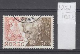 102K1261 / 1986 - Michel Nr. 956 Used  ( O ) Tore Ørjasæter Educator, Literature Critic And Poet Norway Norvege Norweege - Norwegen