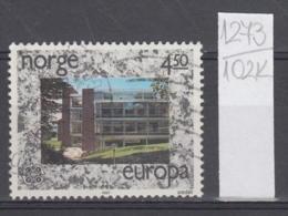 102K1273 / 1987 - Michel Nr. 966 Used  ( O ) CEPT EUROPA Stamps - Modern Architecture,  Norway Norvege Norweege - Norwegen