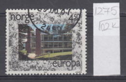 102K1275 / 1987 - Michel Nr. 966 Used  ( O ) CEPT EUROPA Stamps - Modern Architecture,  Norway Norvege Norweege - Norwegen