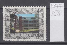 102K1277 / 1987 - Michel Nr. 966 Used  ( O ) CEPT EUROPA Stamps - Modern Architecture,  Norway Norvege Norweege - Norwegen