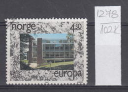 102K1278 / 1987 - Michel Nr. 966 Used  ( O ) CEPT EUROPA Stamps - Modern Architecture,  Norway Norvege Norweege - Norwegen