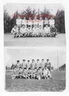 EQUIPES DE FOOTBALL - PHOTO SUR PAPIER CARTONNE - Soccer