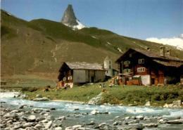 Das Alte Zervreila Mit Dem Zervreilahorn (ob Bad Vals) (298) * 24. 7. 1986 - GR Grisons