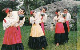 """1 AK  Costa Rica * Typical Dance """"El Guacalito"""" - Costa Rica"""