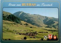 Gruss Aus Rueras Im Tavetsch (3769) * 8. 7. 1991 - GR Grisons