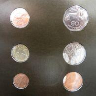 St Helena  Set 1 2 5 10 50 Pence 1 Pound 1984 UNC - Saint Helena Island