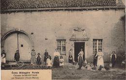 Carte POSTALE Ancienne De  Château De BRAINVILLE - Ecole Ménagère Rurale - Other Municipalities