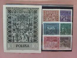 POLONIA 1960 - Chiesa Varsavia Nn. 1179/84 + BF 23 Nuovi ** + Spese Postali - 1944-.... Republic