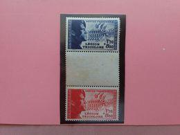 FRANCIA - Legione Tricolore Nn. 565/66 Nuovi (gomma Difettosa) + Spese Postali - Unused Stamps