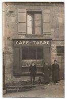 SEPTMONTS  CAFE TABAC CARTE PHOTO JOLI PLAN ANIMEE - Frankreich