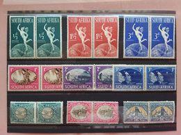EX COLONIE INGLESI - UNIONE SUD AFRICA 1937/49 - Lotticino Coppie Nuovi */** + Spese Postali - Unused Stamps