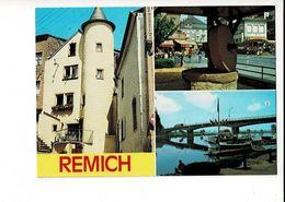 55800 - REMICH -  ANCIENNE PRESSE A FRUITS -  VIEILLE TOUR - LA MOSELLE ET LE PONT - Remich
