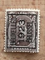69B III Bruxelles 1923 Brussel Rare. Légère Rousseur Et Dents Courtes, Cote 850FB Voir Scans Présence De Gomme - Vorfrankiert