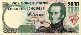 VENEZUELA 2000 Bolivares 1998 See Scan Foto - Venezuela