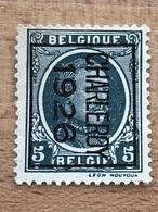 142B Charleroy 1926 TB - Typos 1922-31 (Houyoux)