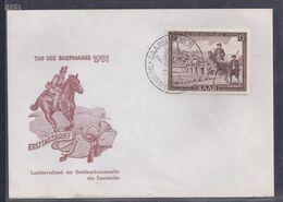 Enveloppe Tag Der Briefmarke Journée Du Timbre 1951 Sarre - FDC