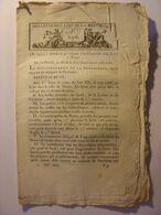 BULLETIN DES LOIS De FLOREAL AN XI (1803) - LYCEE NIMES PAU POITIERS - TIMBRE PAPIER - RAISIN VIN - ARMEMENT ANGLETERRE - Wetten & Decreten
