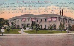 Manila - Bureau Of Printing - Gel.Manila Via Trans-Siberia Nach Thalwil - 1912       (A-252-200421) - Philippines