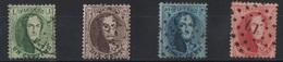 BELGIQUE 13A/ 16A - 1863-1864 Medallions (13/16)