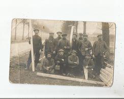 VIEUX METIERS CARTE PHOTO NON SITUEE  AVEC SCIEURS DE LONG 1918 (BELLE ANIMATION) - Other
