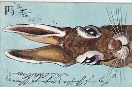 Puzzle Von 3 Karten - Ostersujet - Signiert - 1905     (A-252-200421) - Pasqua