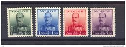 02622  -   Norvège  :   Mi  191-94  * - Unused Stamps