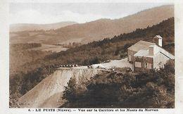 58 - Nièvre - LE PUITS - Vue Sur La Carrière Et Les Monts Du Morvan - France