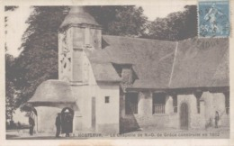 02 HONFLEUR  LA CHAPELLE DE NOTRE-DAME DE GRACE CONSTRUITE EN 1602 - Honfleur