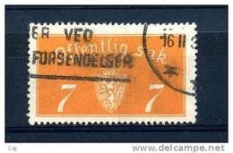 Norvège  -  Services  :  Yv  11A  (o)  Offset 35 X 19 1/2 - Service