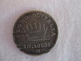 Italy: 10 Soldi 1811 M - Napoleonic