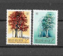 België 1970 Y&T Nr° 1526/27 (**) - Unused Stamps