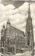 XW 3501 Wien - Stephansdom / Viaggiata 1955 - Vienna Center