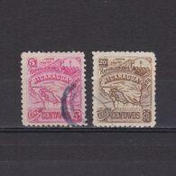 NICARAGUA 1896, Sc #89C-89E, Wmk, Part Set, Used - Nicaragua
