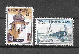 België 1970 Y&T Nr° 1537/38 (**) - Unused Stamps