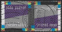 NVPH 1461 - 1990 - Decemberzegels - Oblitérés
