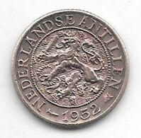 *netherlands Antilles 1 Cent 1952  Km 1  Xf+ - Antillen (Niederländische)