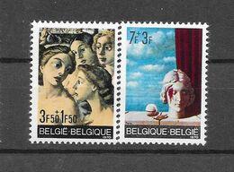 België 1970 Y&T  Nr 1564/1565 (**) - Unused Stamps