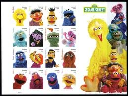 Etats-Unis / United States (Scott No.5394 - The Muppets) (o) Sheetlet Oblitéré - Gebruikt