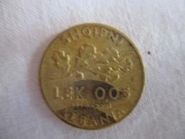 Albania: 0.05 Lek 1940 - Albanië