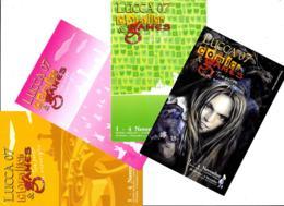 [MD4971] CPM - FUMETTI - SERIE DI 4 CARTOLINE - LUCCA 07 COMICS & GAME- PERFETTE - Non Viaggiate - Comicfiguren