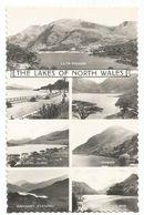 XW 3521 The Lakes Of North Wales - Llyn Padarn Bala Tal Y Llyn Capel Curig Ogwen Gwynant Llanberis / Non Viaggiata - Autres