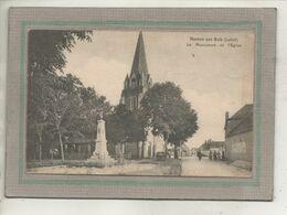 CPA - (45) MAREAU-aux-BOIS - Aspect Du Quartier Du Monument Aux Morts Et De L'Eglise En 1923 - Other Municipalities