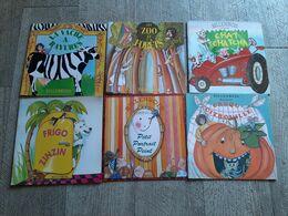 Lot 6 Albums Billenbois Marionnettes à Fil Lansade Dessin De Sellier Frigo Zinzin Zoo Et Forêts Chat Jeunesse Enfantina - Livres, BD, Revues