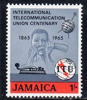 Jamaica 1965 ITU Centenary, MNH, SG 247 (WI2) - Jamaica (...-1961)
