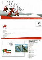 Portugal 2009 , Brochure , Pagela , Fishing Eagles , Portuguese Women , School Mail , Belem Palace , Christmas , Senses - Magazines