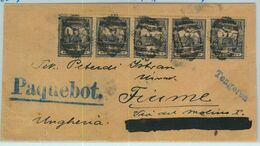 BK0252 - HUNGARY - Postal History - Paquebot SHIP MAIL From MALTA To ITALY 1900 - Malte (...-1964)