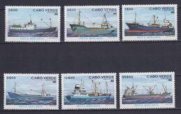 CAPE VERDE 1980, Mi# 431-436, Ships, MH - Cape Verde