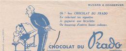 BUVARD CHOCOLAT DU PRADO-Marseille-illustateur FERNEL - Lebensmittel