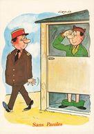 Illustrateur Alexandre Humour Militaire Sans Paroles CPM - Alexandre